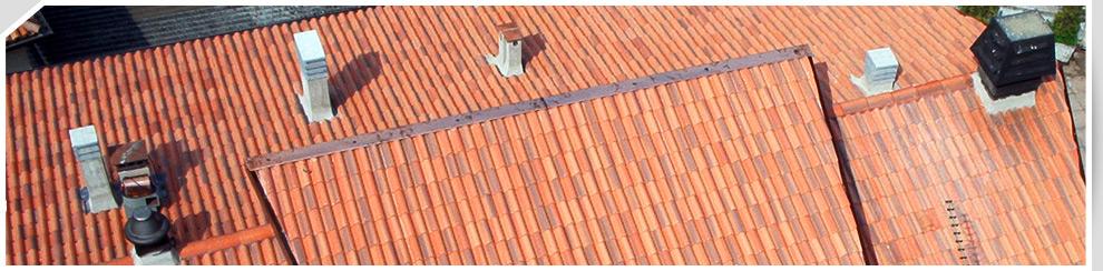 Rifacimento tetti in tegole